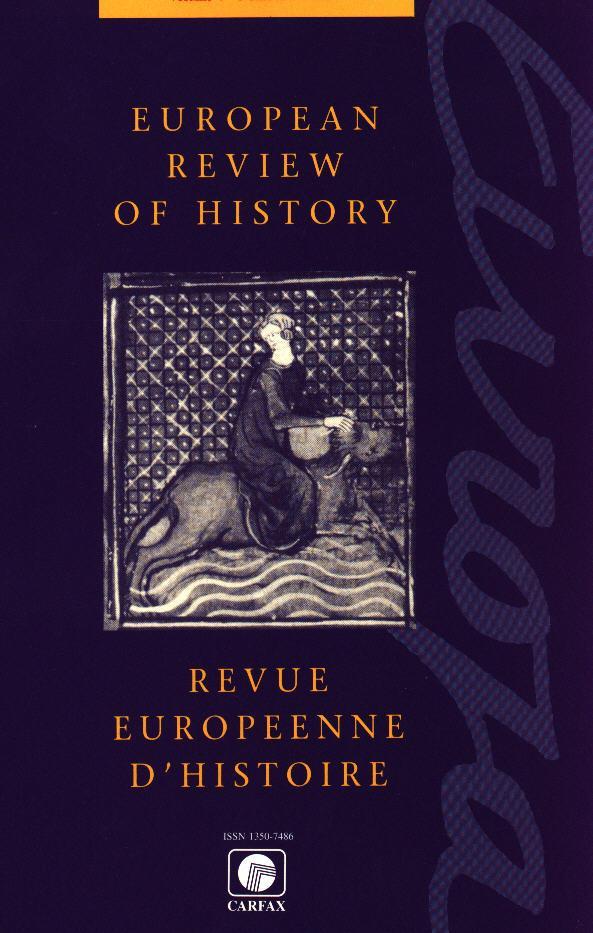 European Review of History/Revue européenne d'histoire